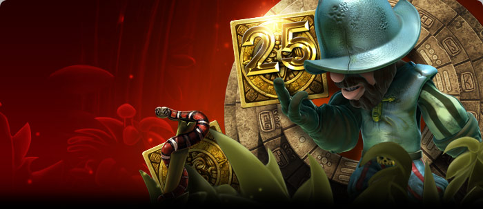 Betsafe 25 darmowych spinów w Gonzo's Quest 27.11.2012